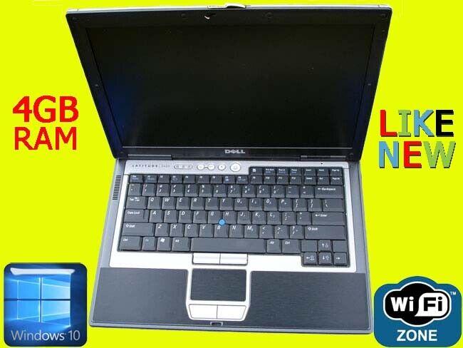 Laptop Windows - Dell Latitude D630 Windows 10 Pro Laptop Computer 4GB Ram Microsoft Office 2016