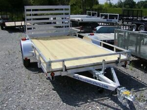 2018 Mission Trailers 6x12 Utility Trailer