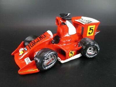 Hucha Coche de Carreras Fórmula Coche Coche Racecar, Cerámica Money Box, Nuevo