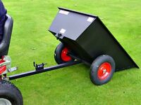 New SCH Tipping Lawn Tractor Trailer