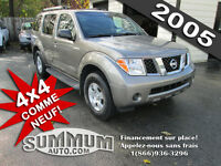 2005 Nissan Pathfinder 4x4  CONDITION IMPECCABLE, ON FINANCE!