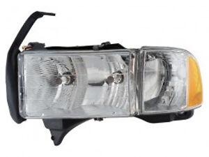 1999 2000 2001 dodge ram 1500 sport model headlight head. Black Bedroom Furniture Sets. Home Design Ideas