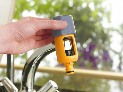 HOZELOCK 2274 MULTI MIXER TAP GARDEN HOSE CONNECTOR & WASHERS LAST FEW IN STOCK