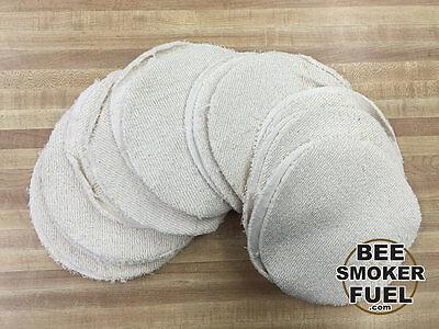 Bee Smoker Fuel - Circles - 100 Cotton - 2lb Bag