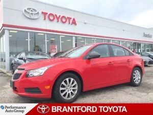 2014 Chevrolet Cruze Alloy Wheels, Local Trade, Only 86522 Km's