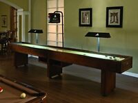 NEW SHUFFLEBOARDS,POOL TABLES,BARS,STOOLS,POKER TABLES FOR SALE