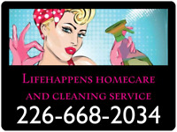 Lifehappens homecare and cleaning service