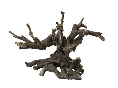 AQUA DELLA TREE STUMP ca.41x23,5x26cm Polyrin Aquariendeko Wurzel Holz baum ()