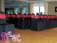 Sashes and chair covers for sale