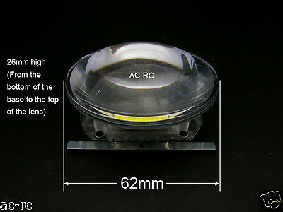 62mm 90 Lens Reflector For 20-100w Led