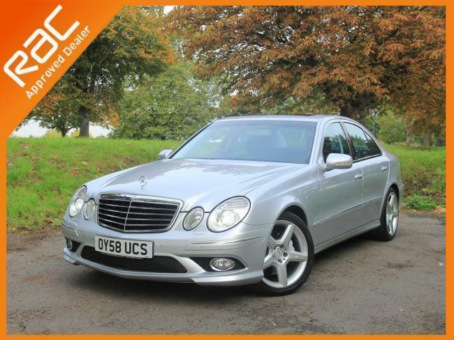 2008 mercedes benz e class e320 cdi turbo diesel sport amg pack auto sat nav 1 p in croydon. Black Bedroom Furniture Sets. Home Design Ideas