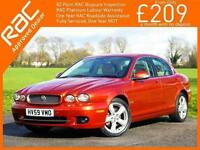 2009 Jaguar X-TYPE 2.2D Turbo Diesel SE Auto Sat Nav Bluetooth Leather Heated Se