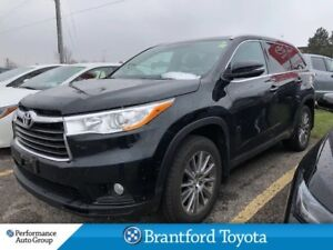 2015 Toyota Highlander XLE, Local One Owner Trade In, Navi, Prox