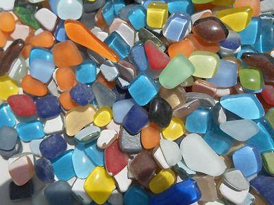 Unregelmäßige Mosaikstene lose zum Basteln Polygonal Bunt Mix
