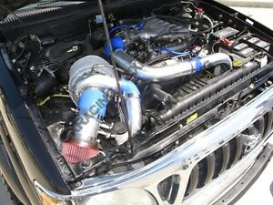 Complete used Turbo kit for 95-04 Tacoma V6 5VZ-FE