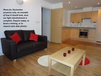 Brand new renovated double en-suite room available in a trendy block in Basford