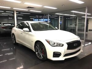 2017 Infiniti Q50 Red Sport 400hp Tech and Drivers Assist pkg
