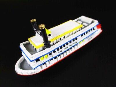 Schiff Raddampfer Mississippi Queen Hamburg Hafen 12 cm Polyresin Ship Modell