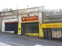 Vacant single storey retail/hot food unit extending to 78 sq m (838 sq ft)