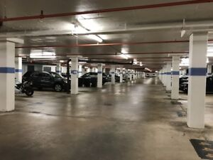 Indoor Parking spot in Gem1 Condo New delhi drive and Markham Ro