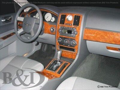 Dash Trim Kit for CHRYSLER 300 05 06 07 carbon fiber wood -