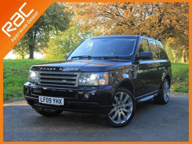 2009 land rover range rover sport 2 7 tdv6 turbo diesel hse auto sat nav bluetoo in croydon. Black Bedroom Furniture Sets. Home Design Ideas