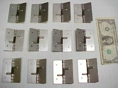Lot 12 Steel Spring Hinges Door Cabinet Hardware Compartment Enclosure Carpentry