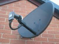 Sky satellite dish 60cm with LNB