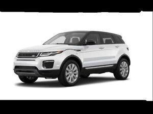 Transfert de bail/Lease transfer- Range Rover Evoque 2017