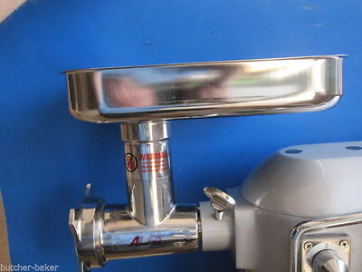 Meat Grinder Attachment Pizza Dough Mixer Fits Thunderbird 20 30 40 60 80 Qt