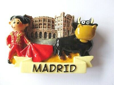Madrid Magnet Souvenir Spanien Torrero Stierkampf 7 cm,Neu ! (Magnet Madrid)