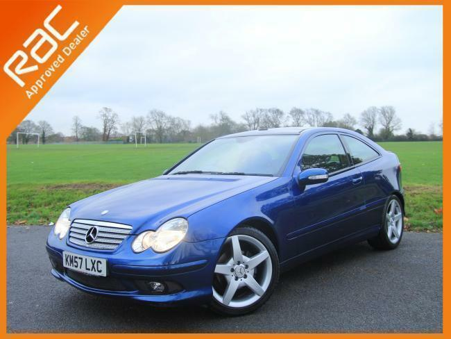 2007 mercedes benz c class c220 cdi turbo diesel sports coupe auto amg evo pan r in croydon. Black Bedroom Furniture Sets. Home Design Ideas