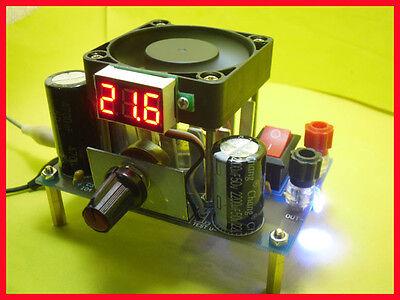 Lm338k Digital Display Adjustable Linear Voltage Regulator Module Kit