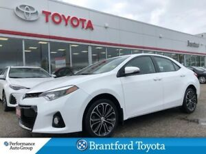 2016 Toyota Corolla S, Manual, Sunroof, Black Wheels, Tinted