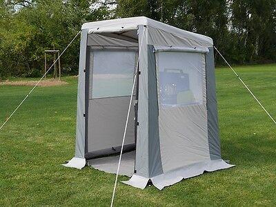 Küchenzelt Livorno 150 Gerätezelt Zelt Duschzelt Lagerzelt Beistellzelt Herzog