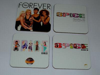 The Spice Girls Album Cover COASTER Set