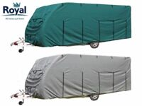 Royal Caravan Cover 19ft - 21ft Brand New In Box - Available In Green or Grey