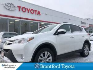 2015 Toyota RAV4 Limited, Only 41802 Km's!, Navigation, Leather