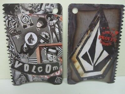 VOLCOM surf CREDIT CARD WAX COMB North Shore Proven New Old Stock Flawless