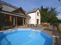 1 Week Holiday in Cornwall - Bude (Bank Holiday Weekend Fri May 26th to 2nd June) - with swim pool