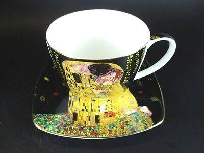 Gustav Klimt Kaffeetasse Wien Österreich,schöne Gift Box,Keramik,Mug .