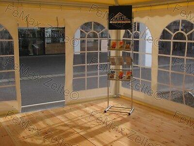 5x5m Pagode / Partyzelt / Festzelt / Lounge / Mit Fußboden