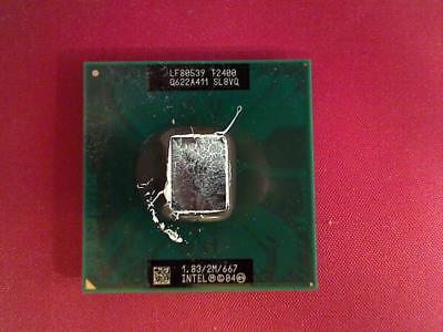1.83 GHz Intel Core 2 Duo T2400 CPU Prozessor Dell M90 PP05XA 1,83 Ghz Intel Core