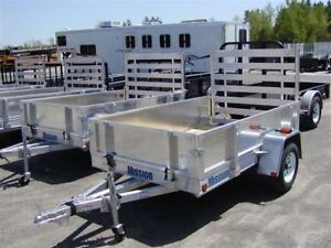 Wanted-5x10 Aluminum Mission Trailer