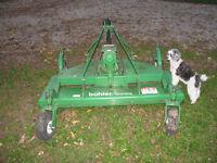 Buhler Farm King Grooming Mower
