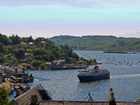 Oban holiday apartment with spectacular sea views