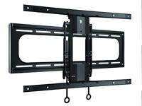 SANUS VLC1-B2 Mounting Kit for Curved LCD TV 40 - 88-Inch - Black