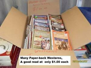 Westerns  Paperback Books Beckenham Gosnells Area Preview