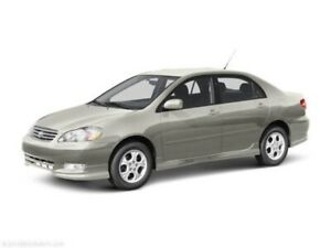 2003+ Toyota Sedan Wanted As-Is