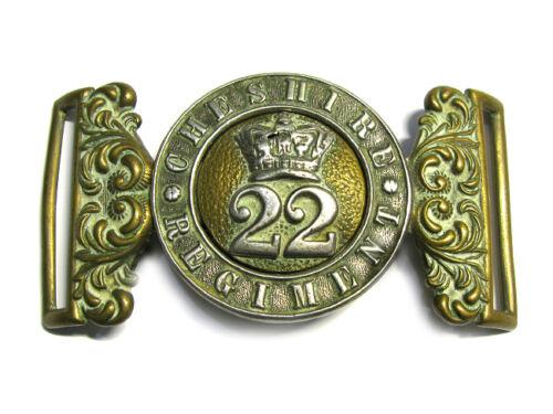 Victorian Pre 1880 Cheshire Regiment (22nd) Belt Buckle